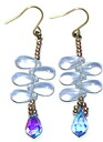Bead accessories Dorothy Pierce (Alexandrite & light Sapphire AB)