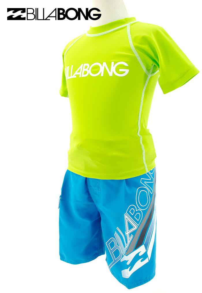 Billabong-ビラボン-ラッシュガード-半袖-キッズ-子供用-AF015-850