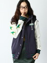 X-girl STARS SWEAT JACKET 빅스 여자