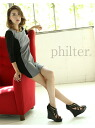 philter punch color blocking A-line OP