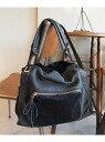 2 BEAUTY & YOUTH UNITED ARROWS BYTF combination leather zip way tote bag 2