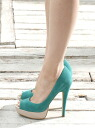BABY PURE storm color pumps