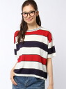 The NAME DOUBLE knit short sleeve p/o double name