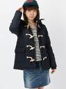 X-girl STAR QUILTING DUFFEL COAT x girl outerwear