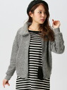 Agrimony 푸 칼라가 재킷 구매자 셀렉트 코트/자 켓