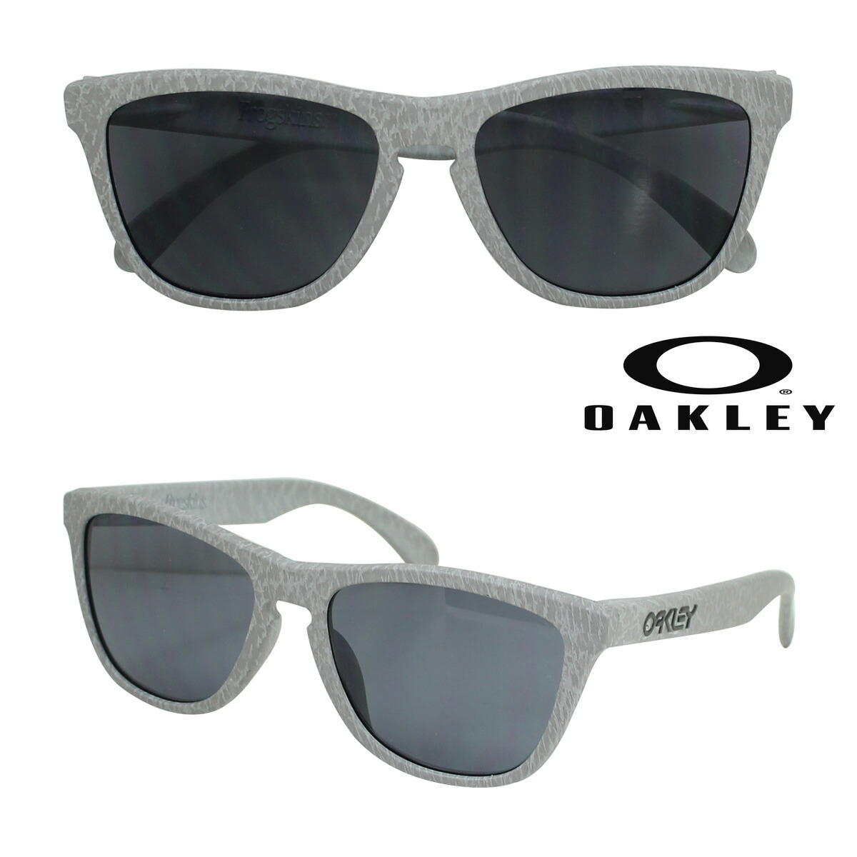 oakley womens sunglasses asian fit  oakley oakley sunglasses frogskins asian fit frog skin asian fitting oo9245 30 smoke grey men's women's
