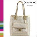 Coach COACH Tote multicolor Penelope linen signature N S ladies