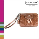 Point 10 times coach COACH [copper] Ristretto Madison patent small 10P30May15 [F46621], [normal outlet]