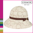 Coach COACH Hat light khaki Penelope linen Hat