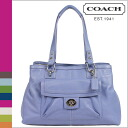 Coach COACH tote bag cornflower Penelope leather carryall ladies