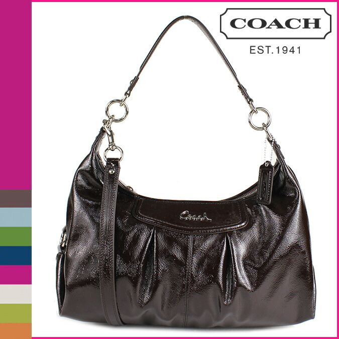 Coach Patent Shoulder Bag 110