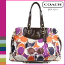 Coach COACH Tote multicolor Ashley hand scarf print carryall women's