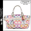 Coach COACH poppy POPPY tote bag 2-Way multi dream C rocker women's