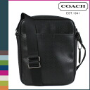Coach COACH men's shoulder bag black HPC flight bag