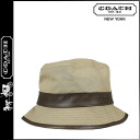 Coach COACH Hat khaki bonded Crusher Womens