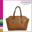 SOLD OUT coach COACH tote bag [F25205] saddle Taylor leather Alexis carryall women's [regular outlet]