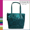Coach COACH tote bag [F25470] jade signature sequin ladies '[regular outlet]
