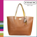 Point twice coach COACH Womens Tote Bags F31326 saddle Metro leather tote [regular outlet] P06Dec14
