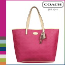 Coach COACH Lady's tote bag F32003 ベリーメトロエンボスドレザートート [7/14 Shinnyu load] [regular outlet]★★