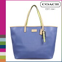 Coach COACH Lady's tote bag F24341 porcelain blue park metro leather [8/26 Shinnyu load] [regular outlet]★★