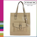 Coach COACH Womens Tote Bag F28723 camel Charlie embossed Python leather tote [2 / 2 new in stock] regular outlet ★ ★