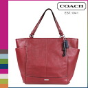 Coach COACH Womens Tote Bags F28726 red Crimson Park leather NS Tote [2 / 2 new in stock] regular outlet ★ ★