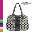 Coach COACH Womens Tote Bag F31444 black x white Python signature stripe Tote [10 / 28 new in stock] regular outlet