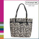 Coach COACH Womens Tote Bag F31901 black multi signature Leopard Tote [10 / 28 new in stock] regular outlet