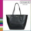Coach COACH Womens Tote Bag F34099 black cross-grain leather taxi Tote [3 / 2 new in stock] regular outlet ★ ★