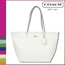 Coach COACH Womens Tote Bag F34103 choke cross-grain leather taxis zip top Tote [3 / 2 new in stock] regular outlet ★ ★