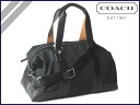 Coach COACH F70424 men's 2-way Boston bag TRANS ナイロンジム