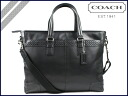 Coach 2 COACH business bags g leather zip Tote