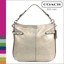 Coach COACH shoulder bag grey Collet structure for 32nm leather Hobo