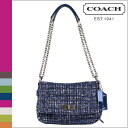 Coach shoulder bags black multi Boucle Chelsea COACH flaps women's