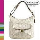 Coach COACH shoulder bag 2-Way multi color Penelope linen signature convertible Womens
