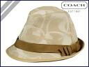 Coach COACH Hat SOHO signature SOHO SIGNATURE HAT KHAKI