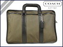 Coach F70382 COACH men's business bag Briefcase nylon Embassy