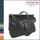 Coach COACH F70098 men's 2-Way Business bag trans Atlantic leather Beekman Briefcase regular outlet