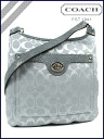 Coach COACH shoulder bag grey pettanko Nairobi hippie ladies swing Pack