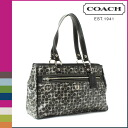 Coach COACH Tote Bag Black x grey women's Chelsea bias