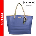 Coach COACH Womens Tote Bag F24341 porcelain blue Park Metro leather [regular] ★ ★