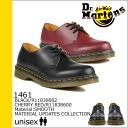 Dr. Martens Dr.Martens 1461 3 Hall shoes MATERIAL UPDATES leather men's R11838002 black [regular] ★ ★