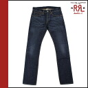 Double Aurel RRL Ralph Lauren vintage denim アンティークインディゴ cotton men's bottoms DENIM JEANS