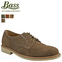 ジーエイチバス G... H... BASS Oxford プレイントゥー shoes BROCKTON Brockton D wise suede men's suede