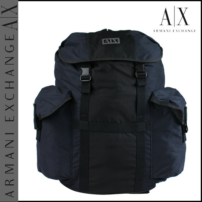 Armani Exchange EXCHANGE ARMANI backpack military polyester men's ...