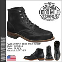 Wolverine WOLVERINE 1000 mile wing chip boots W05344 1000MILE ADDISON WINGTIP BOOTS leather men's Wolverine