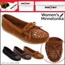 Minnetonka MINNETONKA studded moccasins STUDDED MOC suede スタデッド women's suede