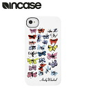인 케이스 INCASE 아이폰 케이스 CL59929 Butterflies i Phone 4S i Phone 4 Warhol Snap Case 맨 즈 레이디스