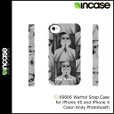 인 케이스 INCASE 아이폰 케이스 CL69006 Andy Photobooth i Phone 4 S i Phone 4 Warhol Snap Case 맨즈 레이디스
