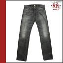 Double Aurel RRL DOUBLE RL Ralph Lauren vintage denim 4861334 LSPK LOW STRAIGHT cotton mens